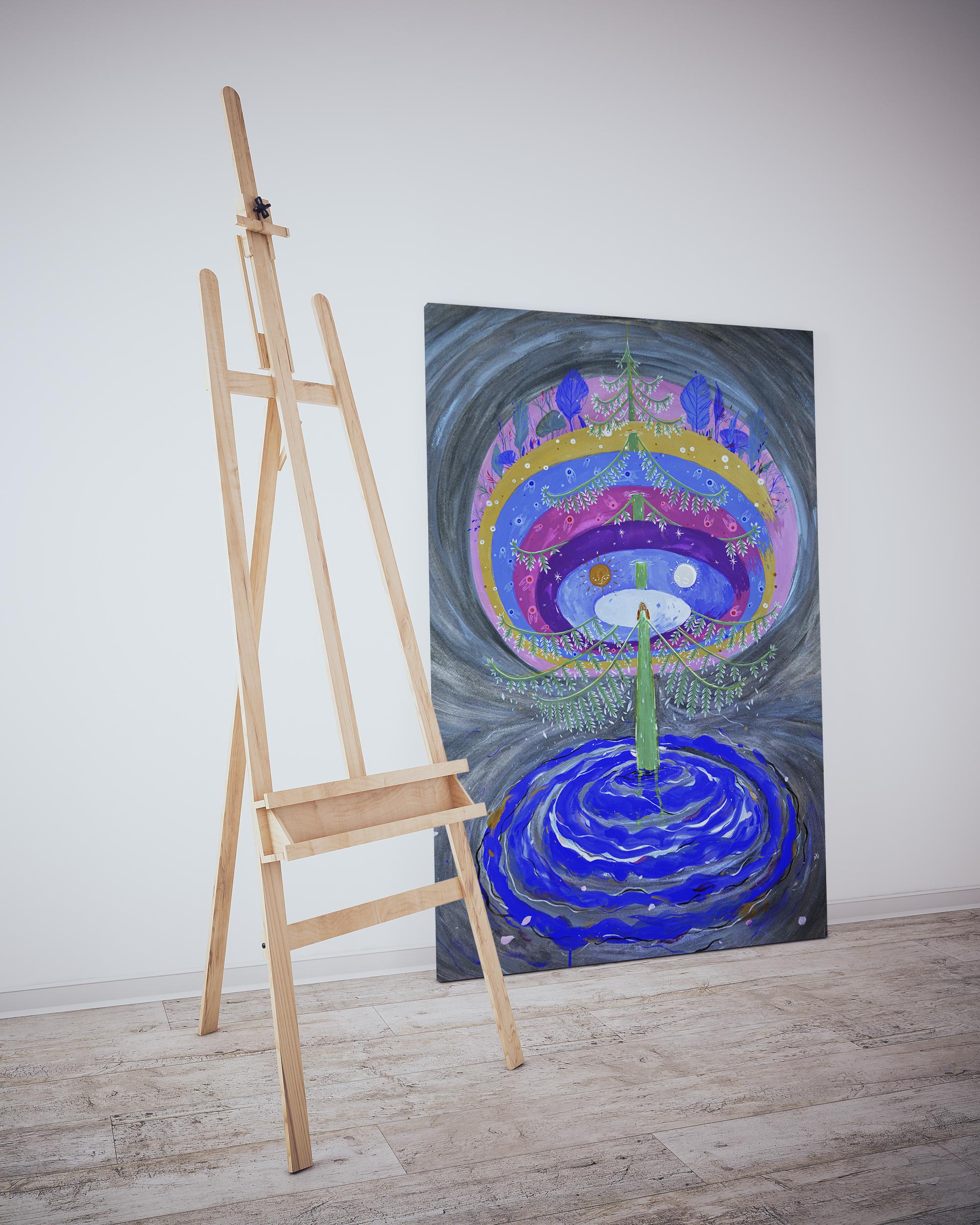 alice-allistration-cosmic-tree-painting