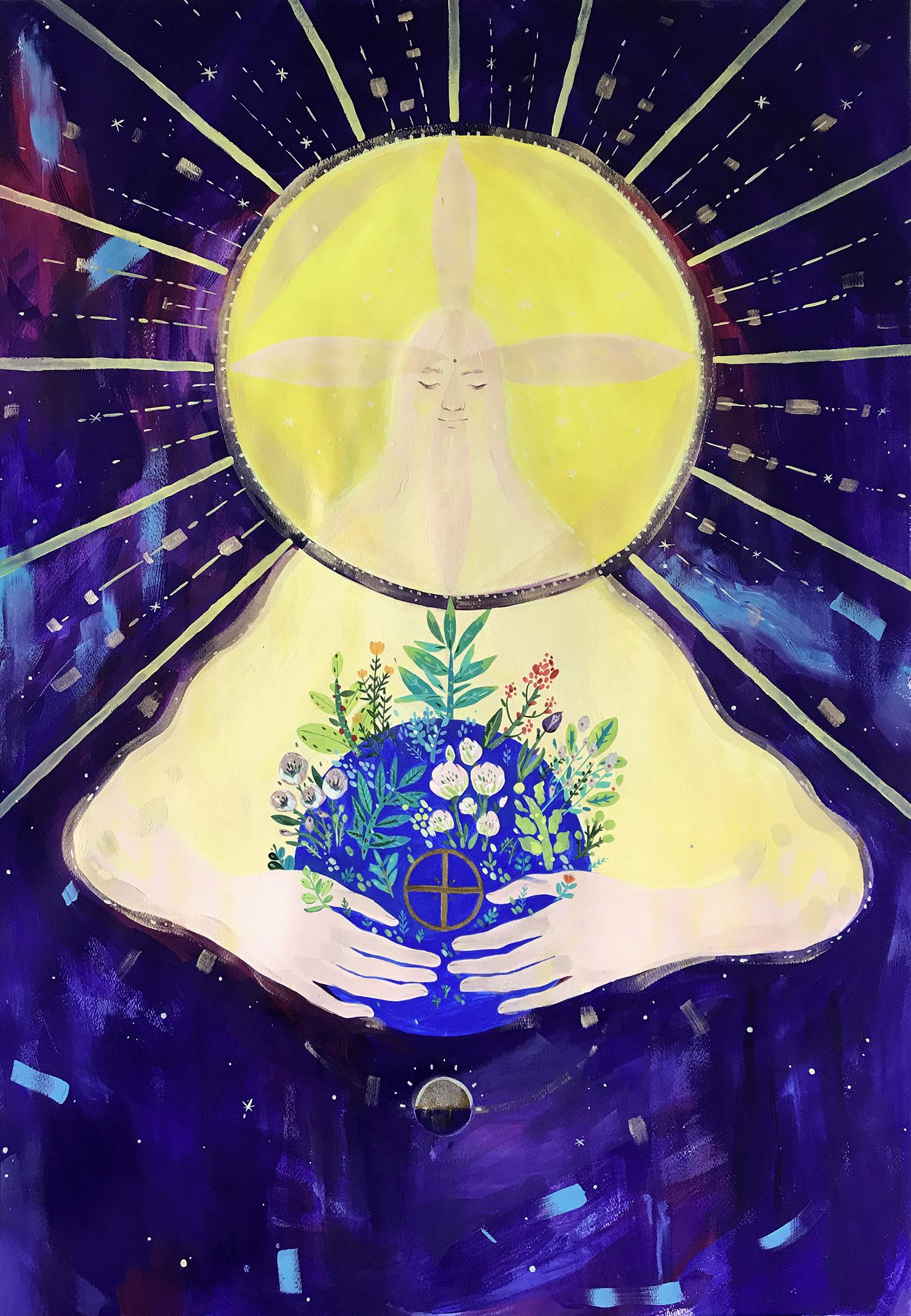 the-holy-sun-illustratio-allistration