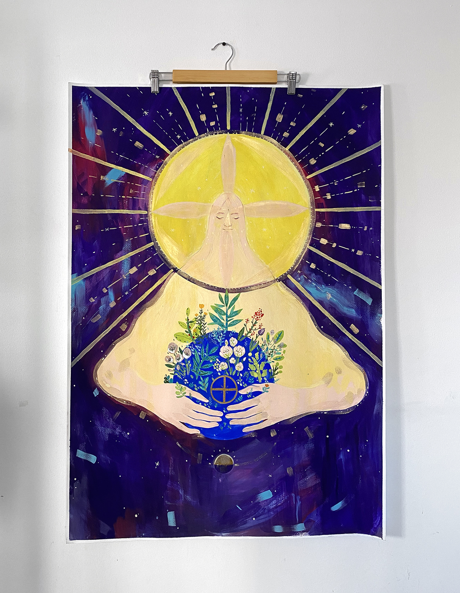 the-holy-sun-on-wall-illustration